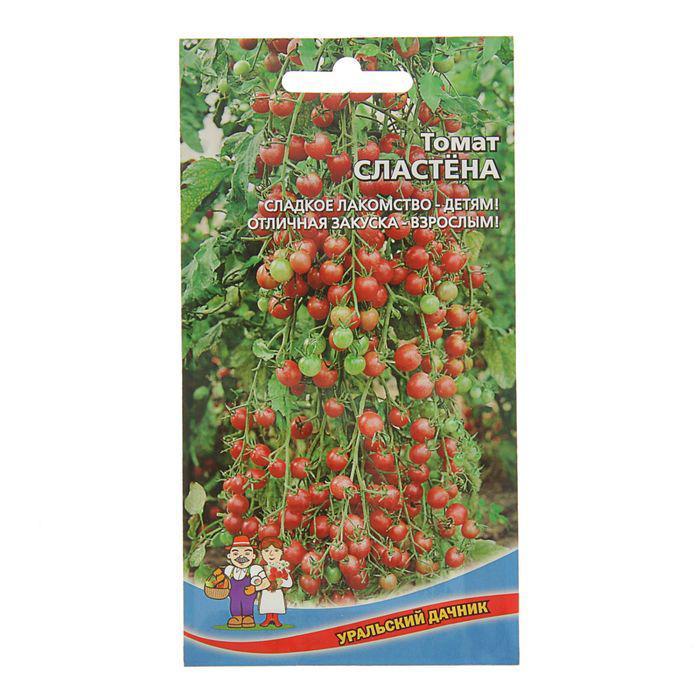 """Семена Томат """"Сластёна"""" высокоурожайный сорт для пленочных теплиц и защищенного грунта 0,1 г   21900"""