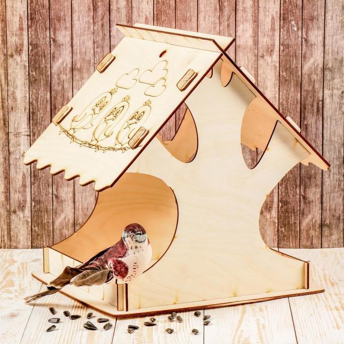 Кормушка для птиц «Дерево», 24 × 24 × 27 см