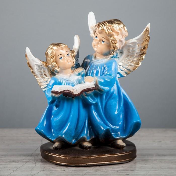 "Статуэтка ""Ангел пара с книгой"" 12 х 16 х 21 см, микс"