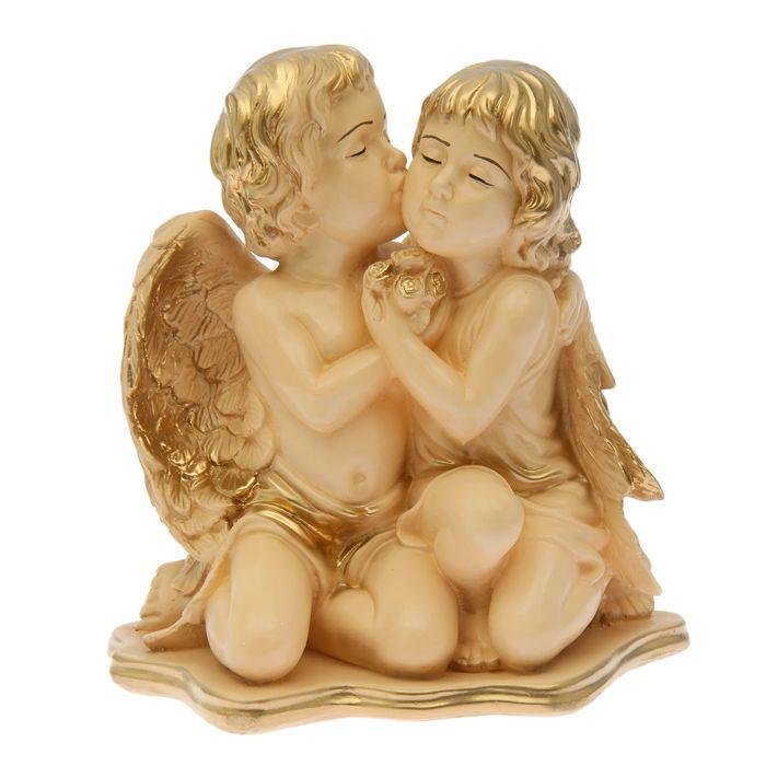 """Статуэтка """"Ангел пара"""" огромная, бежевая"""