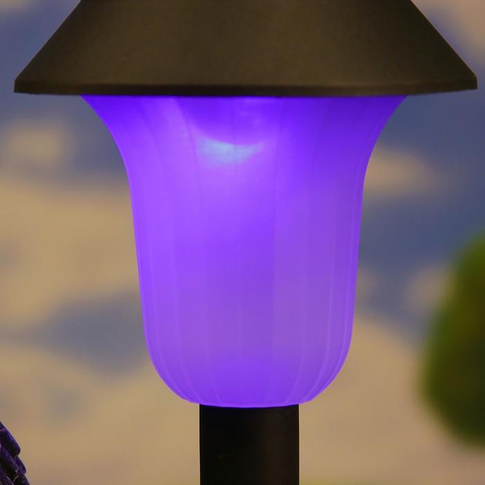 """Садовый фонарь """"Ёжик на ножках с фонарем"""" 25см"""