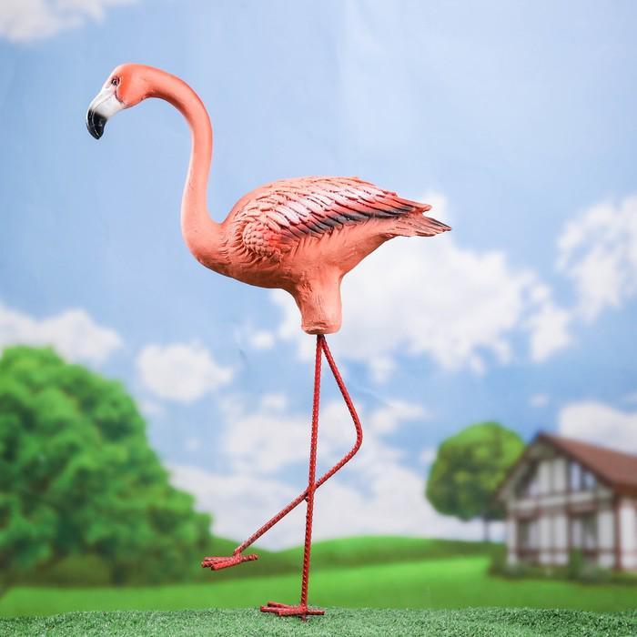 """Садовая фигура """"Фламинго"""" малый 36*13*70 см"""