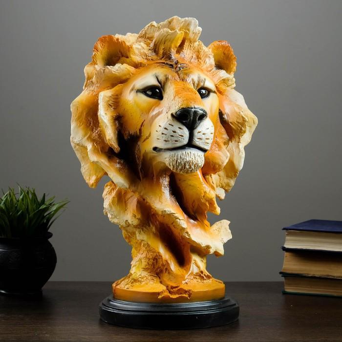 """Фигура """"Голова льва"""" 45х28 см"""