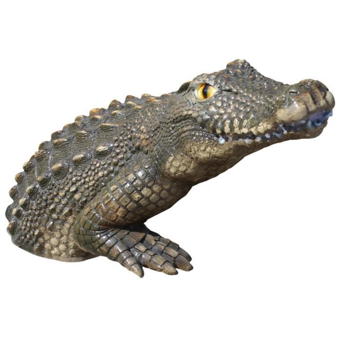 """Садовая фигура """"Крокодил"""""""