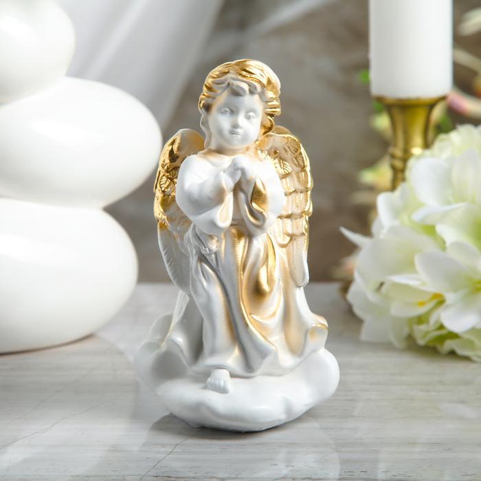 """Статуэтка """"Молящийся ангел на облаке"""" малая"""