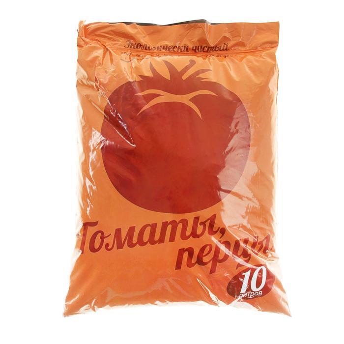 Почвогрунт для томатов, перцев, 10 л (4,5 кг)