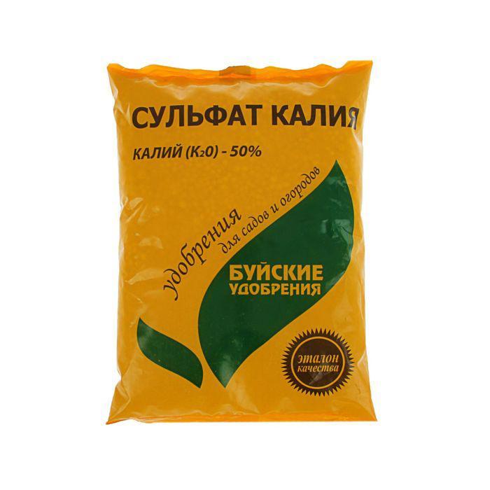 Удобрение минеральное Сульфат калия (калий сернокислый), 0,9 кг