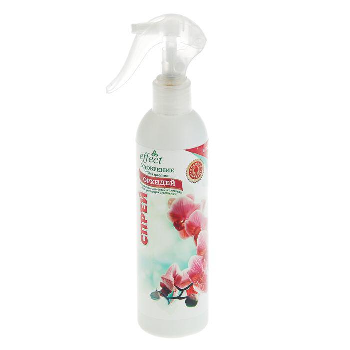Удобрение для цветков и листьев орхидей EffectBio, спрей, 300 мл