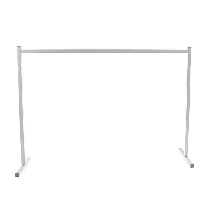 Подставка металлическая для светильника Uniel, металлическая, 715х515х200 мм, Белая