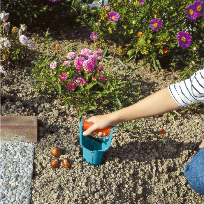 Сажалка для луковичных растений и рассады, длина 25 см, пластиковая ручка, GARDENA