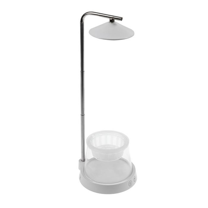 Растущий светильник Uniel, с подставкой и декор. емкостью, 4000 K, для рассады и цв.