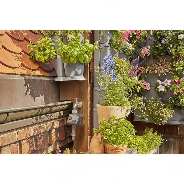Набор: шланг сочащийся (3/16″), адаптер для микрокапельной системы, штуцер,для вертикального садовод