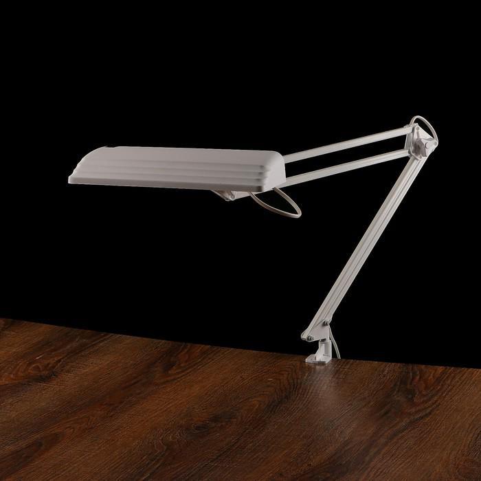 Фитосветильник светодиодный «Дельта П-С32Ф», на металлической струбцине, 12 Вт, 220 В, 50 Гц, белый