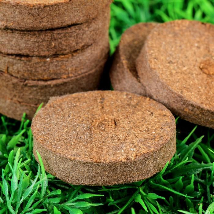 Таблетки торфяные, d = 4,2 см, набор 8 шт.
