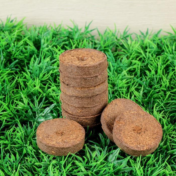 Таблетки торфяные, d = 3,6 см, набор 10 шт.