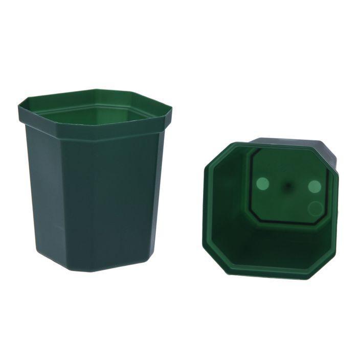 Горшок для рассады, 300 мл, 7.5 × 7.5 × 9 см