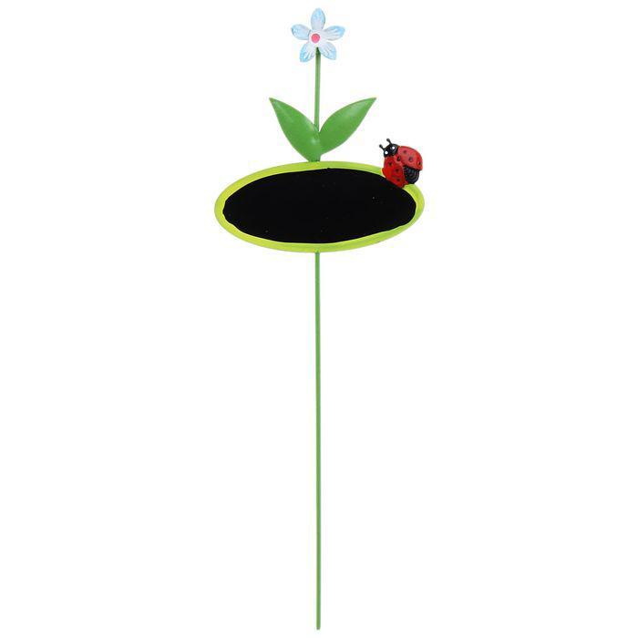 """Декоративный штекер для комнатных растений """"Овал"""""""