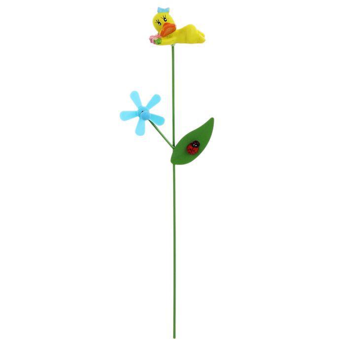 """Декоративный штекер для комнатных растений """"Утёнок"""""""