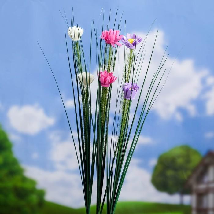 """Штекер садовый """"Цветы"""" 75*3*3 см"""