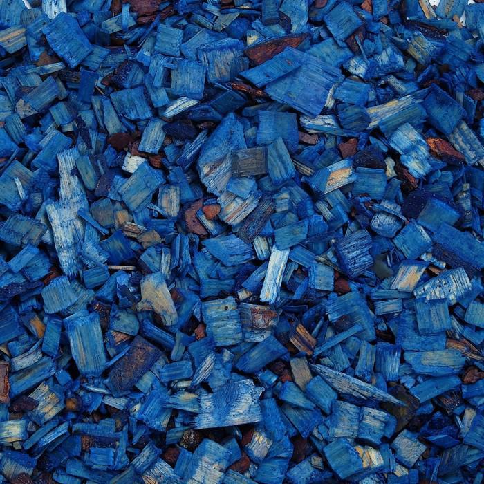 Щепа декоративная 20 л., синий