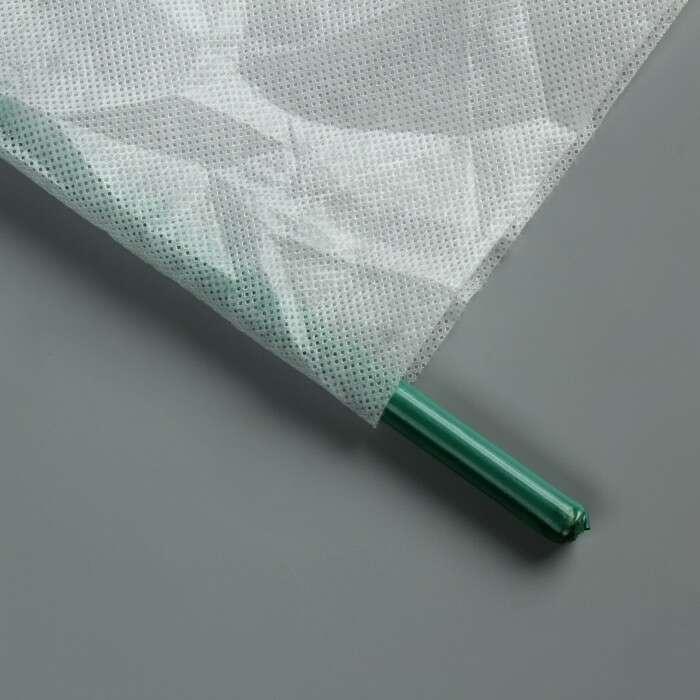 Парник «Весна», длина 7 м, 8 дуг из металла, укрывной материал 60 г/м², длина дуги 2 м