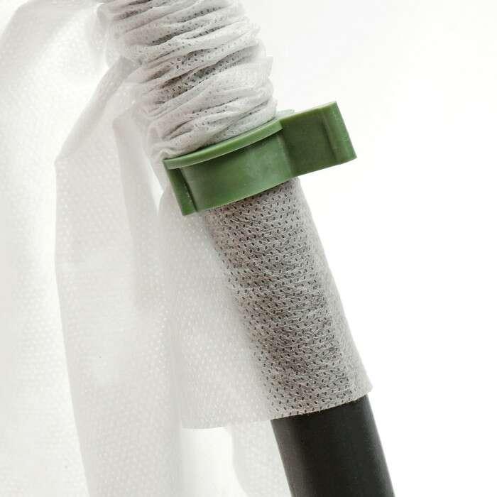 Зажим для крепления для укрывного материала, d = 20 мм, набор 10 шт.