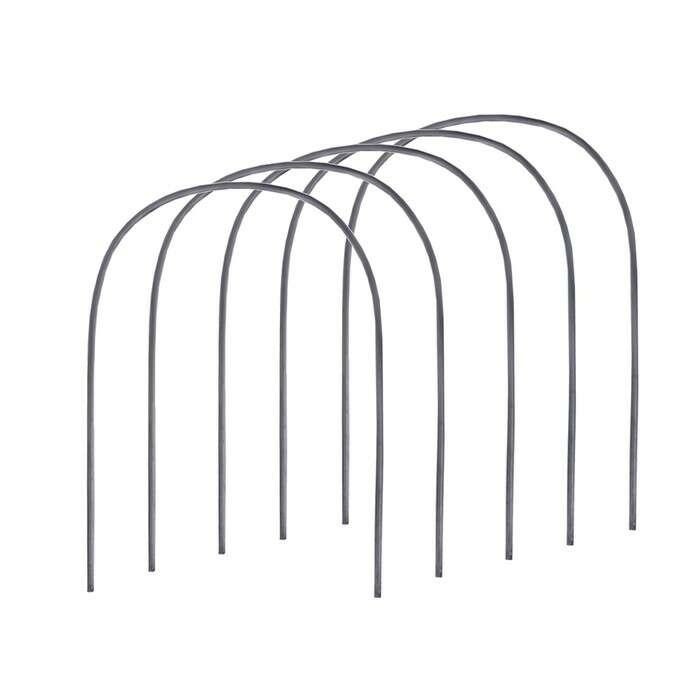 Комплект дуг парниковых, длина дуги 2 м, d = 20 мм, набор 5 шт., пластик