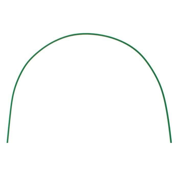 Дуги парниковые, 2 м, 6 шт., d = 10 мм, в кембрике