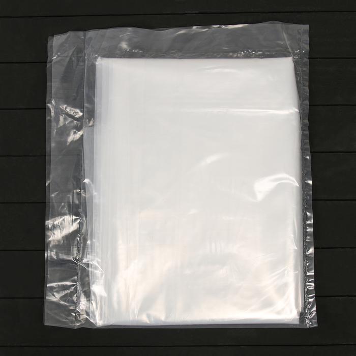 Плёнка полиэтиленовая, толщина 100 мкм, 3 × 10 м, рукав, прозрачная, 1 сорт, ГОСТ 10354-82