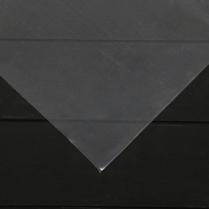 Плёнка полиэтиленовая, толщина 150 мкм, 3 × 100 м, рукав, прозрачная, 1 сорт, ГОСТ 10354-82