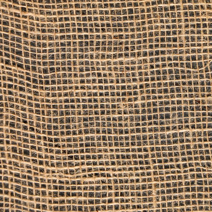 Материал джутовый, 0,95 × 8 м, плотность 190 г/м², плетение 34/24