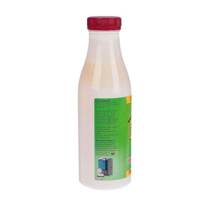 Жидкость для биотуалета «Дачный помощник», 0,5 л, универсальная