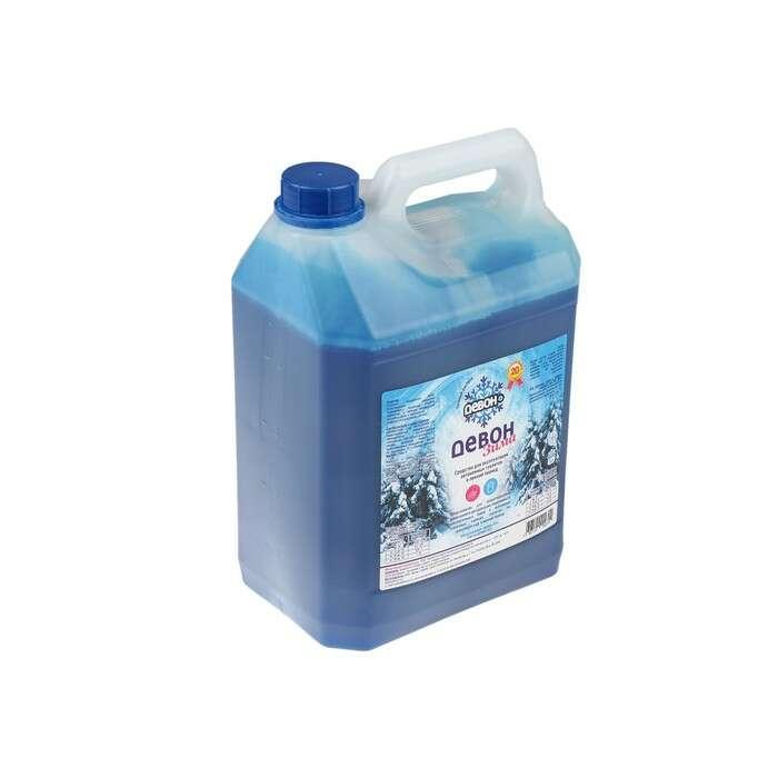 Жидкость для биотуалета «Девон-Зима», 5 л, для нижнего бака