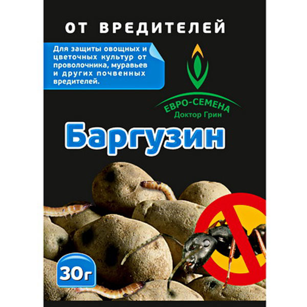 Средство от  проволочника, муравьев и др. вредителей Баргузин, 30 г