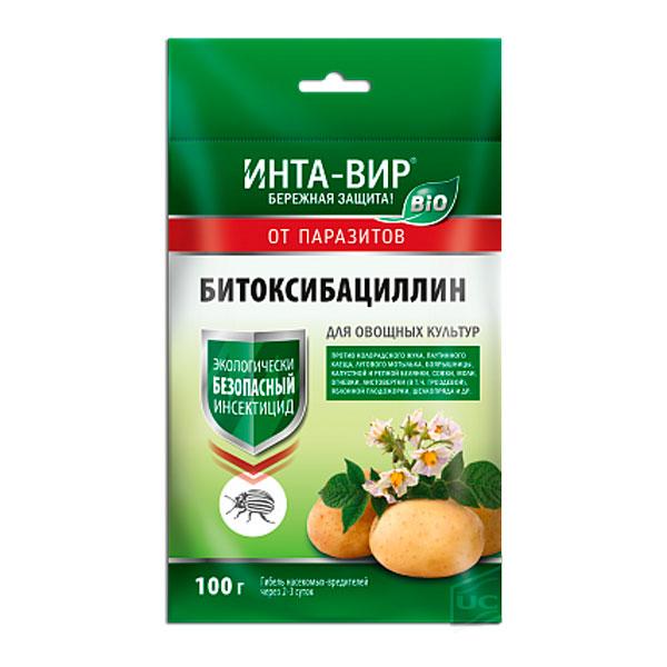 Инсектицид Битоксибациллин Инта-вир, 100 г