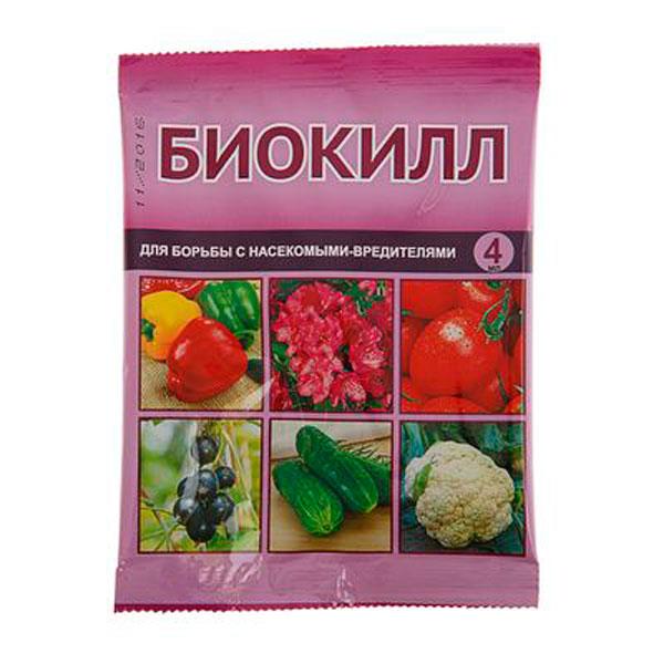 Средство от вредителей овощных культур Биокилл, 4мл