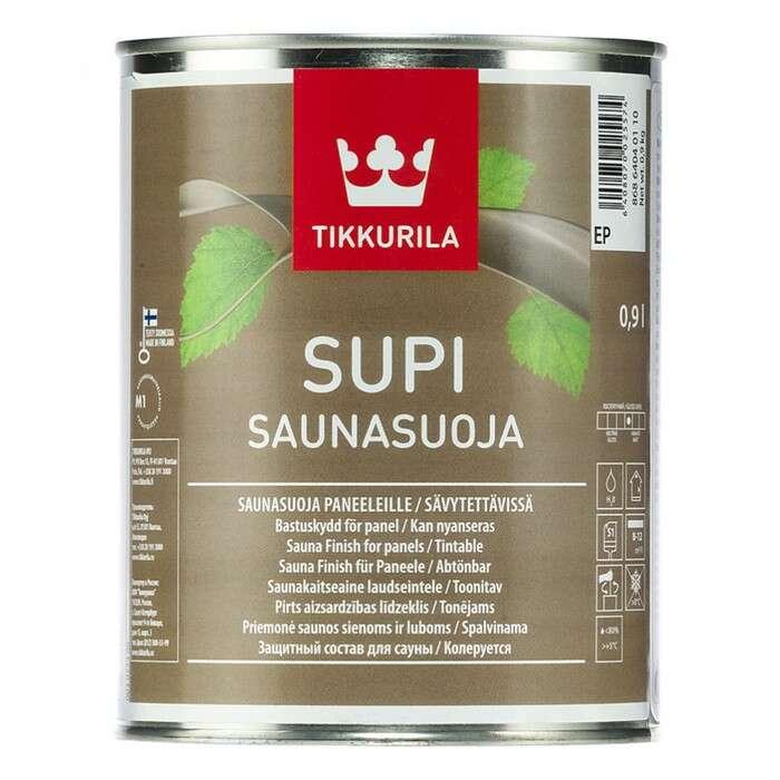 Супи саунасуоя ЕР защитный состав для деревянных поверхностей Тиккурила 2,7л