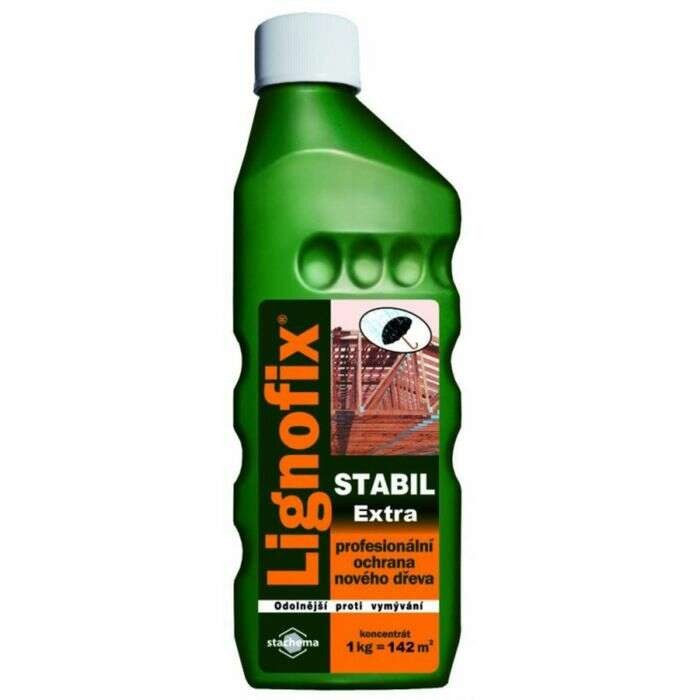 Антисептик бесцветный Lignofix Stabil Extra, 1 кг.