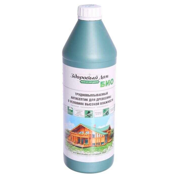 Трудновымываемый антисептик для древесины в условиях высокой влажности, 1 кг