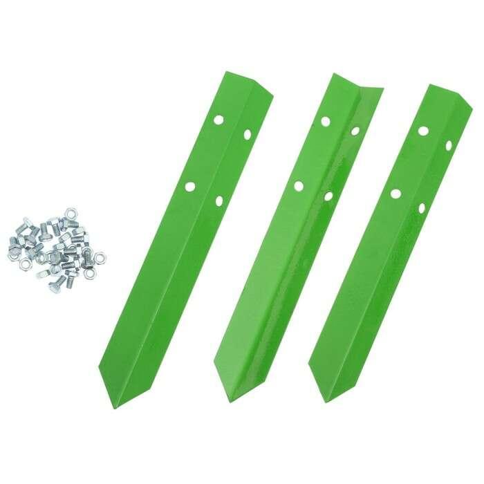 Клумба оцинкованная, d = 80 см, h = 15 см, зелёная