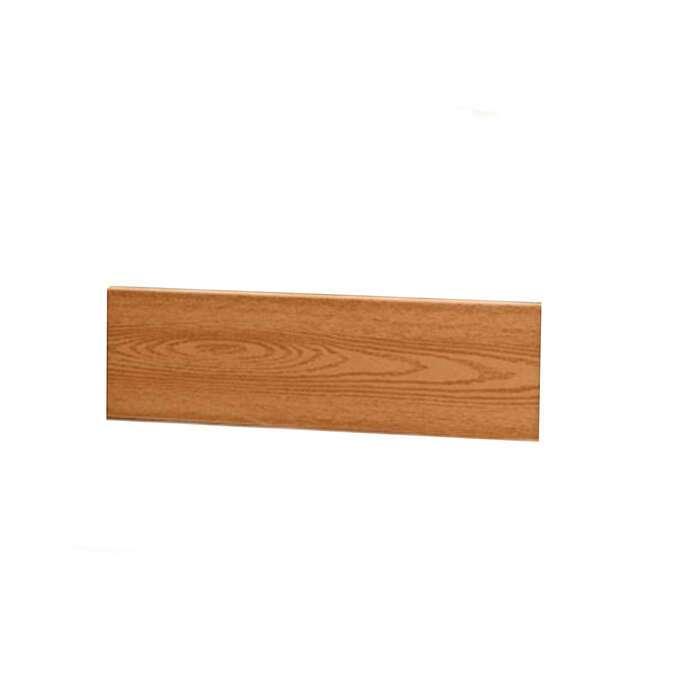 Бортик для грядки, 70 × 15 × 2.5 см, пластик, фактура древесины, коричневый