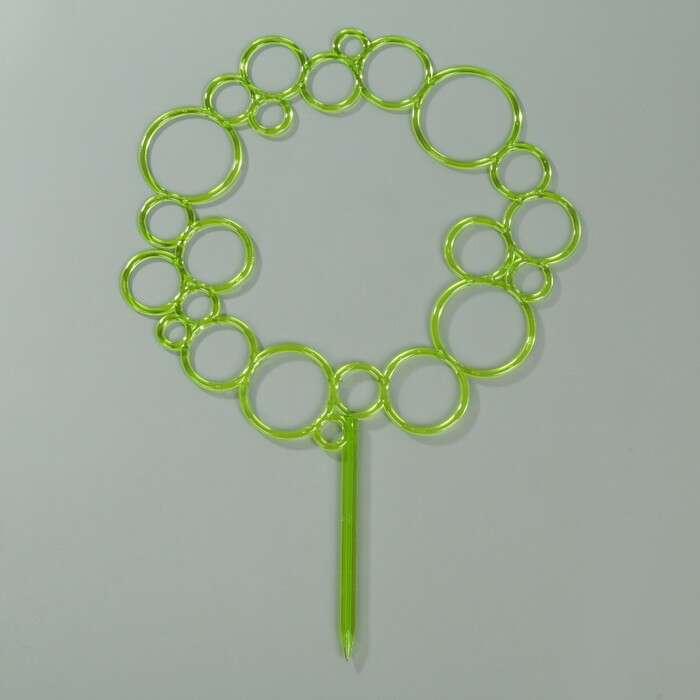 Диадема-поддержка для растений 45 см, цвет зеленый