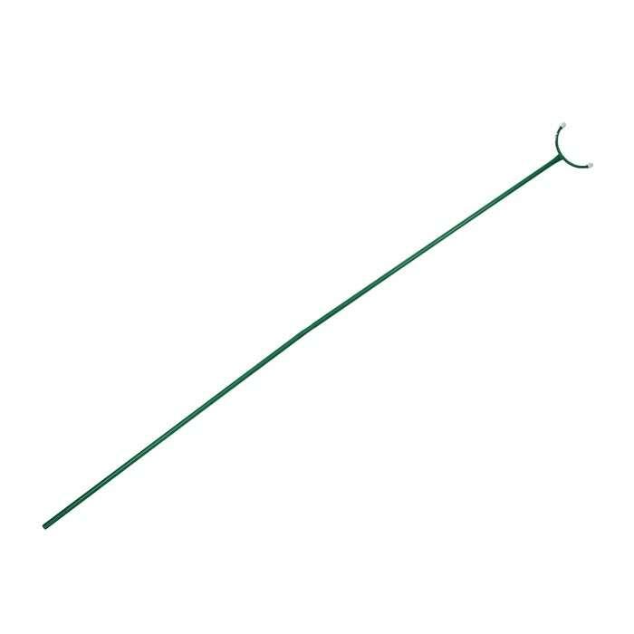 Опора для ветвей, h = 200 см, d = 1.6 см, металл, зелёная