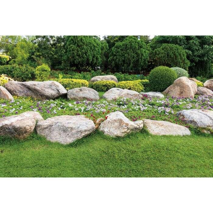 Фотобаннер, 300 × 160 см, с фотопечатью, «Каменный островок»