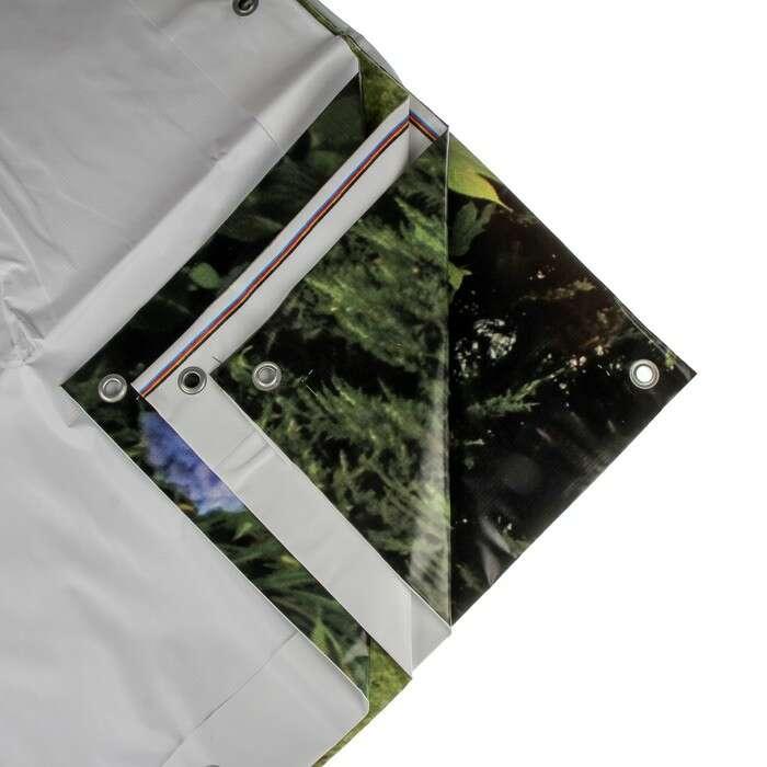 Фотобаннер, 300 × 160 см, с фотопечатью, «Гортензия»