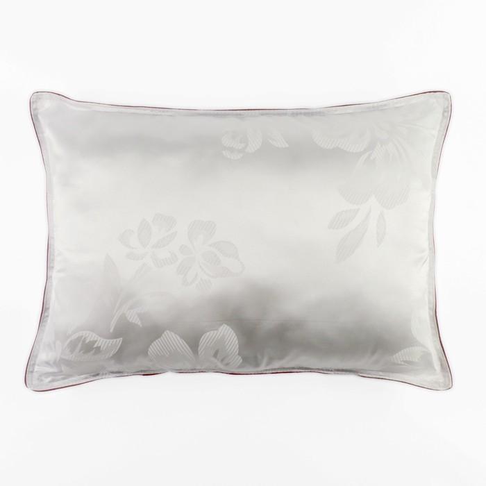 Подушка Адель Версаль 50х70 см, иск.лебяжий пух, трикот, 100% пэ