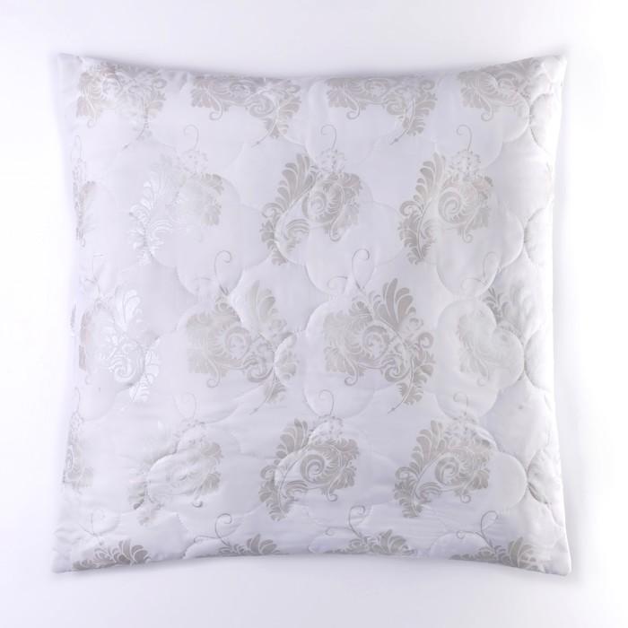 Подушка comfort gloss «Овечка», 70х70 см, овечья шерсть/иск.лебяжий пух, глоссатин, пэ 100%