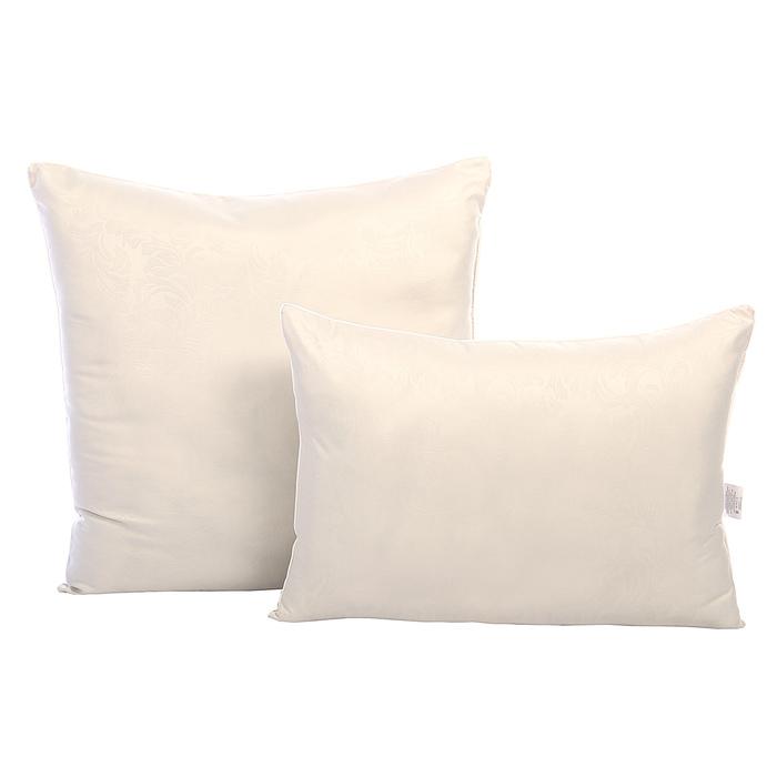 Подушка comfort mikr «Бамбук», 70х70 см, бамбуковое волокно/микроволокно, микрофибра, пэ 100%