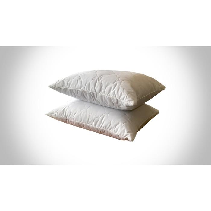 Подушка «Эвкалипт», 50х70 см, искусственный лебяжий пух, микрофибра