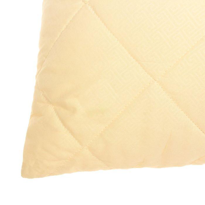 Подушка Овечья шерсть высокая 50*68см, беж., овечья шерсть/силиконизированное волокно, микрофибра,пэ